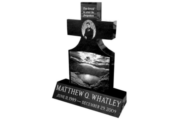 Custom Cross Monument