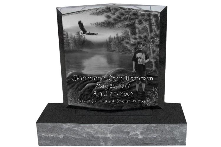Headstones Mike S Laser Etching Amp Sartin Memorials