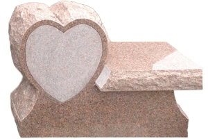 Cremation Bench Heart