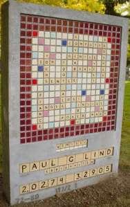 Scrabble Monument
